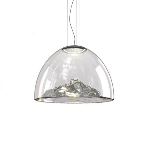 Подвесной светильник копия Mountain View by AXO LIGHT  (серебряный)