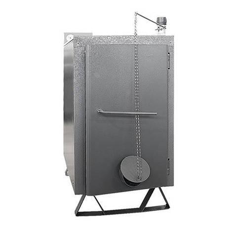 Котел твердотопливный ЭВАН WARMOS-TT - 18 кВт (без регулятора тяги, стальной)