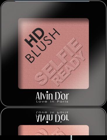 Alvin D`or B-2 Румяна пудровые HD Blush selfie ready 6гр (тон 04)
