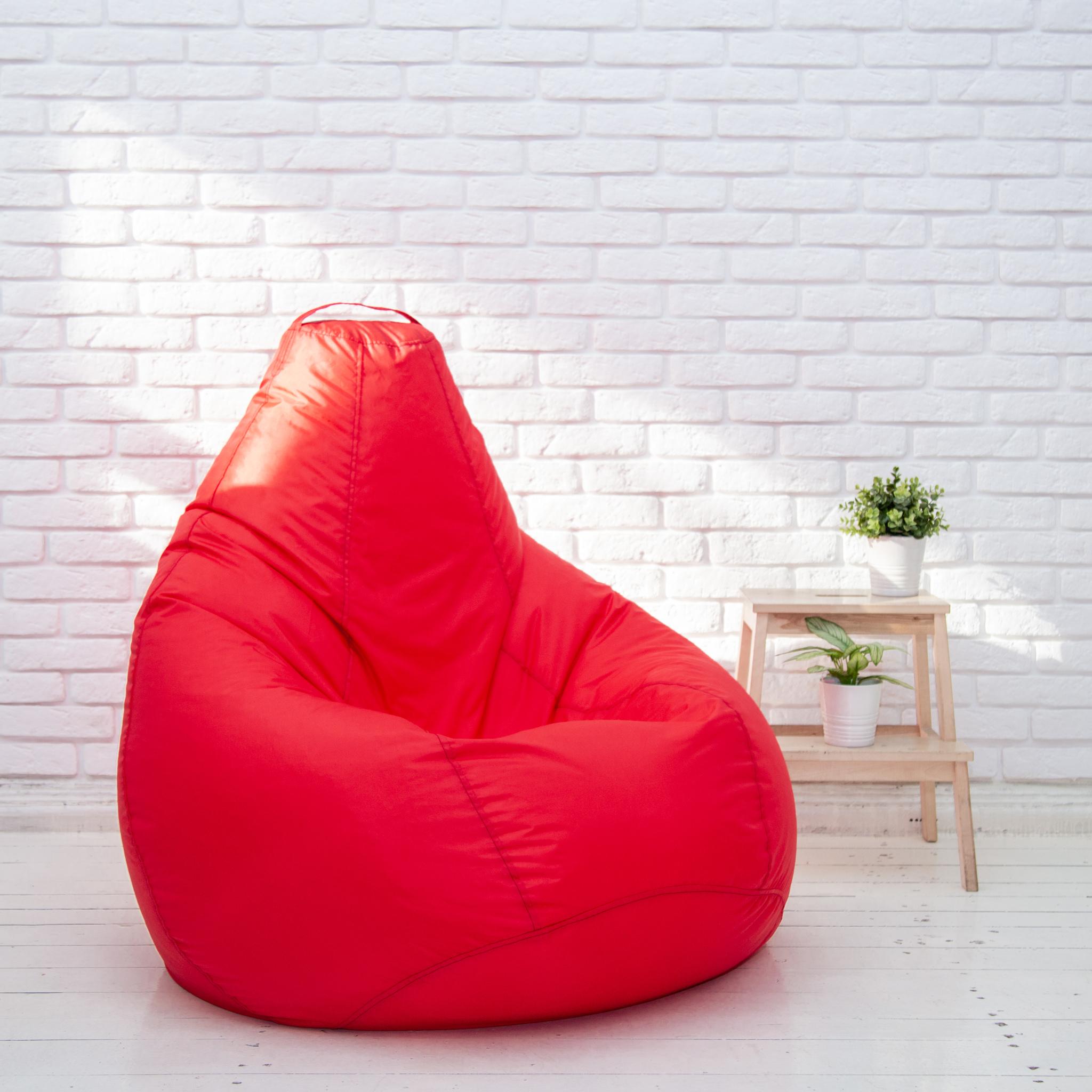 Кресло-мешок-Груша-XL-красная