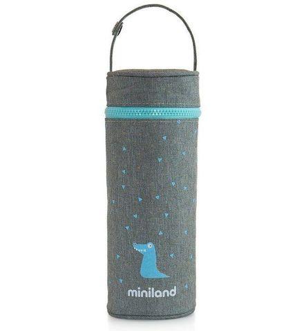 Miniland Silky Термо-сумка для бутылочек, голубой, 350 мл