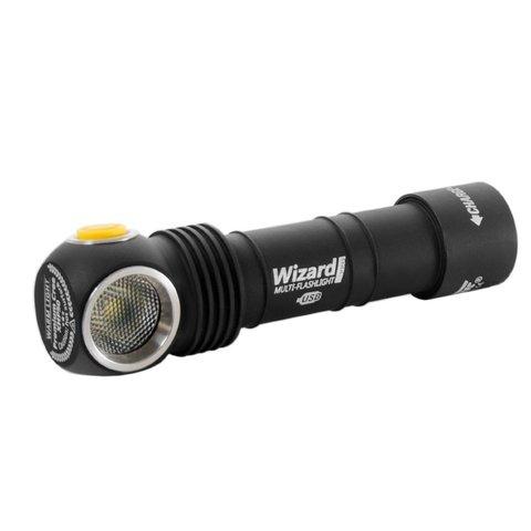 Налобный фонарь Armytek Wizard Pro v3 Magnet USB + 18650 на белом диоде XHP50