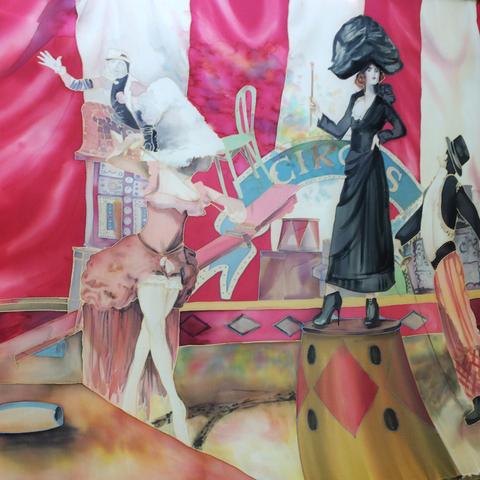 Королева цирка - эксклюзивный платок