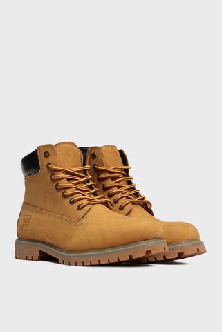 Мужские рыжие кожаные ботинки Sheldon Preppy