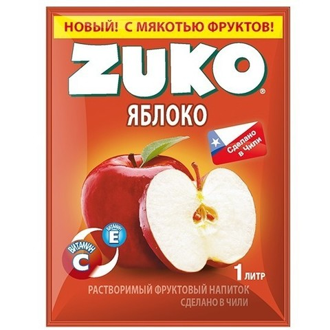 Растворимый напиток Zuko Яблоко 25 г