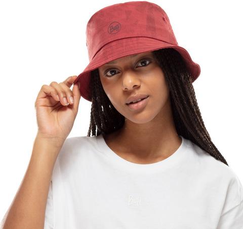 Панама ультралегкая Buff Trek Bucket Hat Acai Brick фото 2