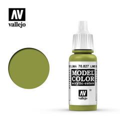Model Color - Lime Green 70827, матовая (17 мл)