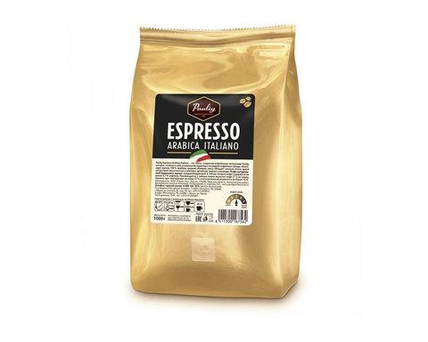 Кофе в зернах Paulig Espresso Arabica Italiano, 1 кг