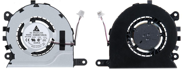 Вентилятор (кулер) для ноутбука Samsung NP350U2A Серий 4pin, 3cable