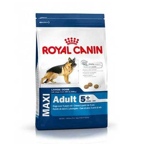 15 кг. ROYAL CANIN Сухой корм для стареющих собак крупных пород MAXI Adult 5+