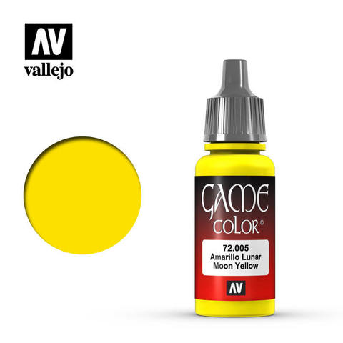 Game Color Moon Yellow 17ml.