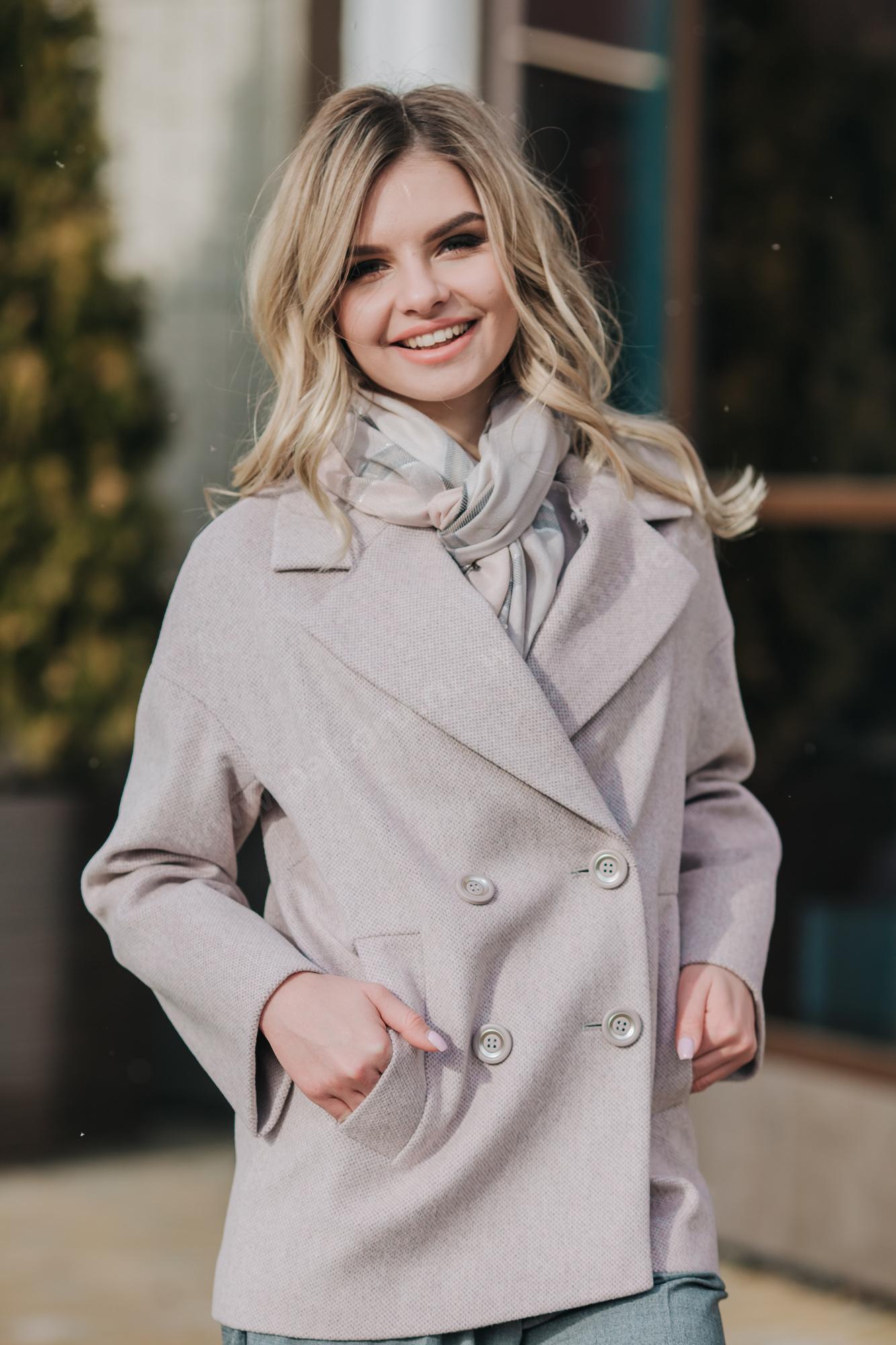 Пальто женское автоледи