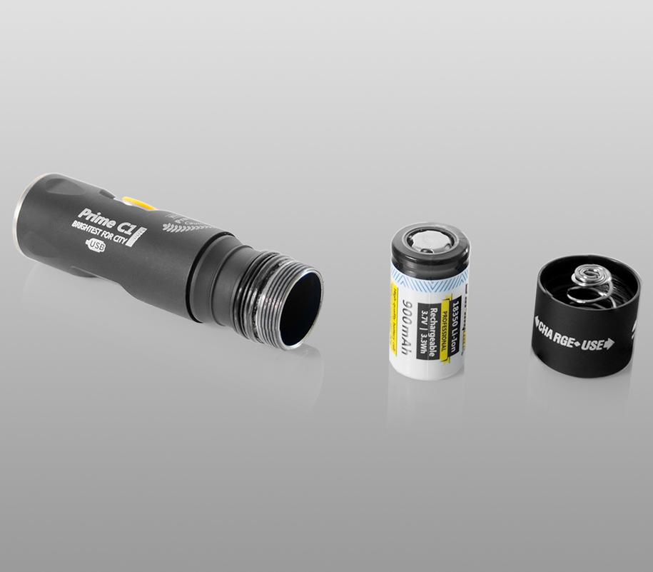 Фонарь на каждый день Armytek Prime C1 Pro Magnet USB (тёплый свет) - фото 5