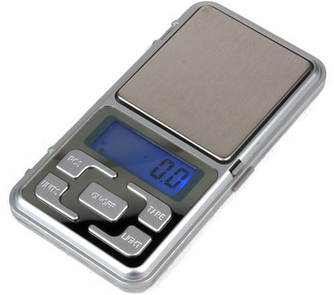 Портативные весы электронные MH-Series 0,1-500гр