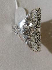 Узор  (кольцо из серебра)