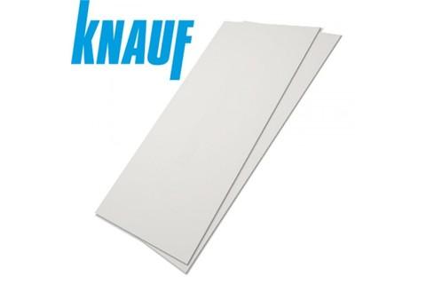 ГКЛ Кнауф 12.5 мм, Гипсокартонный лист обычный 1200х2500х12.5 мм