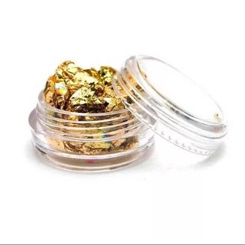 Золото пищевое в баночке (1л)