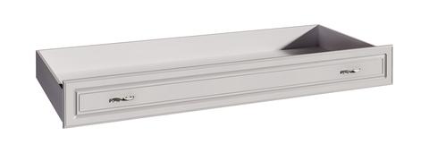 Ящик-контейнер прикроватный Melania 10 для кровати Арника рамух белый