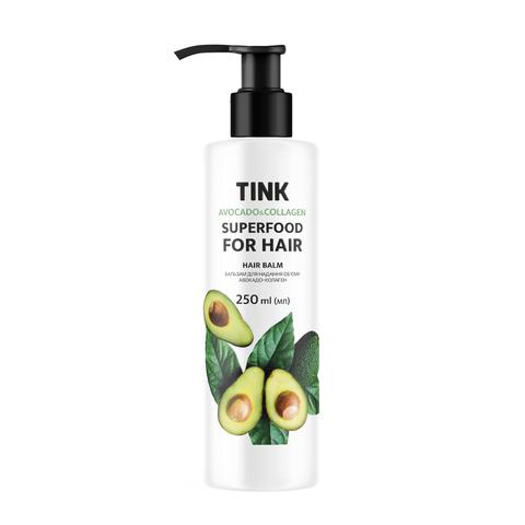 Бальзам для надання об'єму Авокадо-Колаген Tink 250 мл (1)