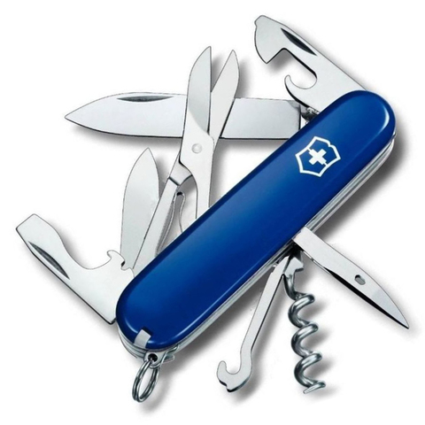 Нож Victorinox Climber, 91 мм, 14 функций, синий