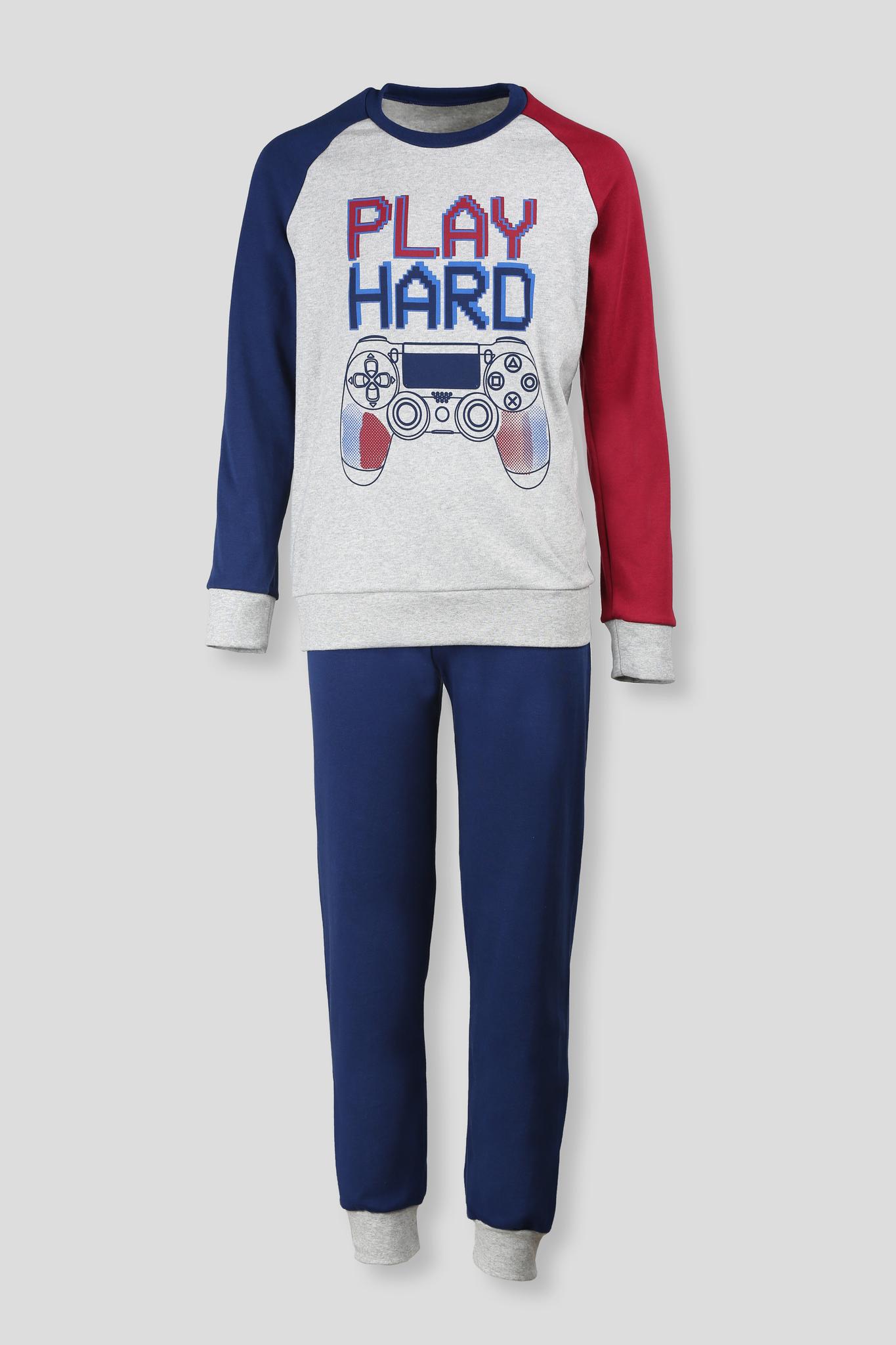 Детская мужская пижама E19K-73P102