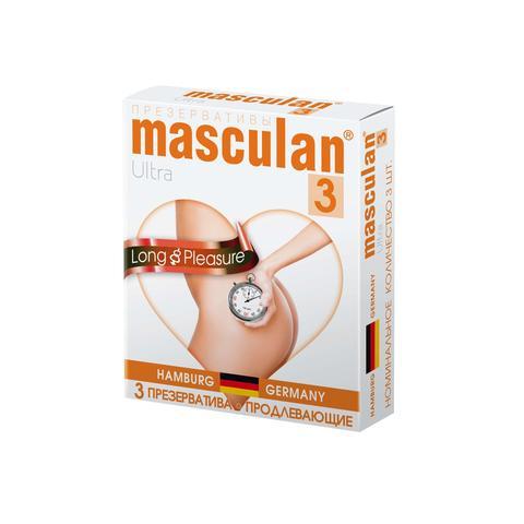 Презервативы Masculan Ultra 3
