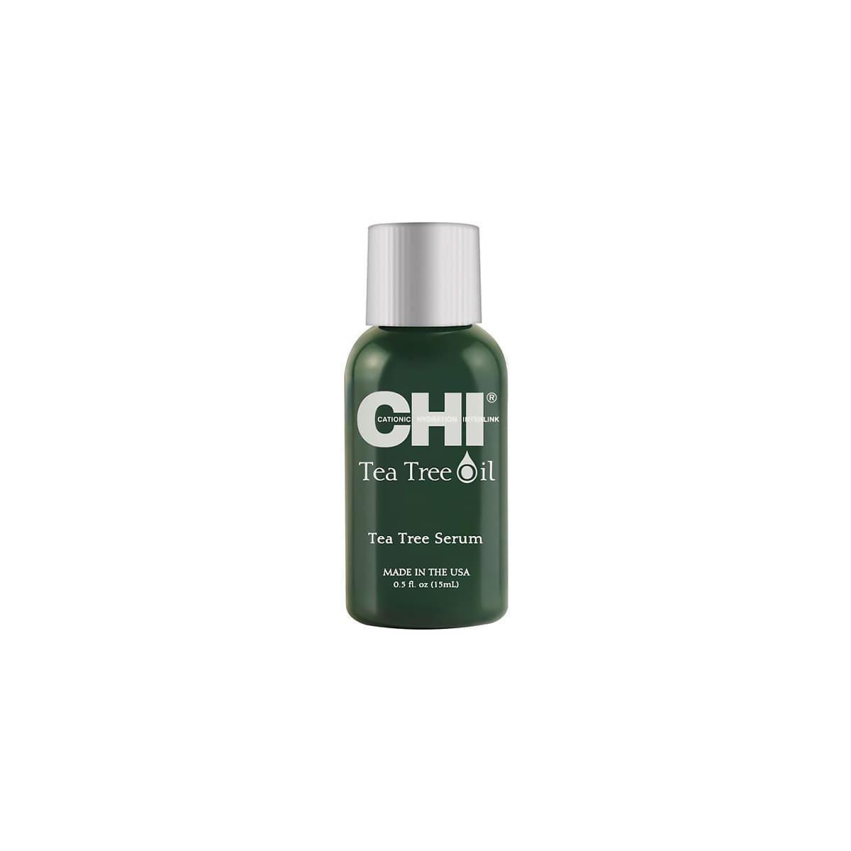 Сыворотка для волос с маслом чайного дерева