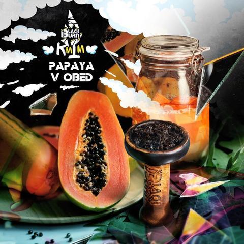 Табак Black Burn Papaya v obed (Блэк Берн Яркая Папайя) 100г