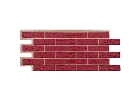 Фасадная панель Саман - Красный