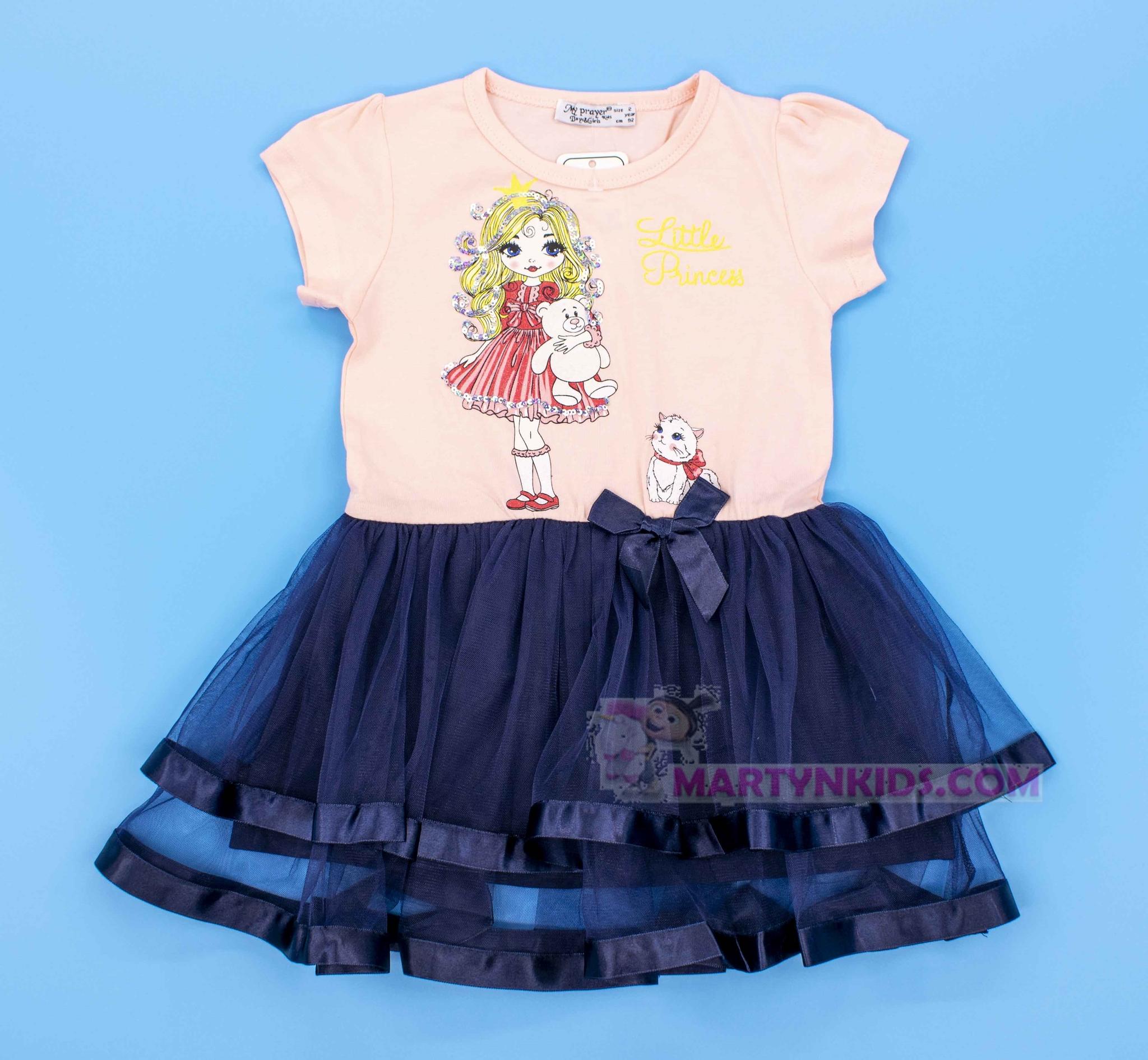 3841 платье little Princess