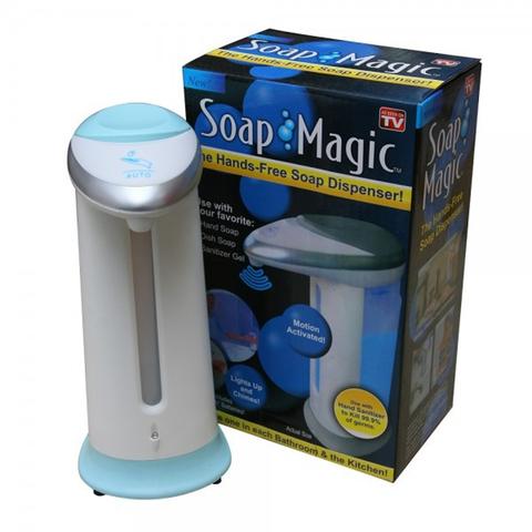 Сенсорный диспенсер Soap Magic для жидкого мыла (мыльница-дозатор)