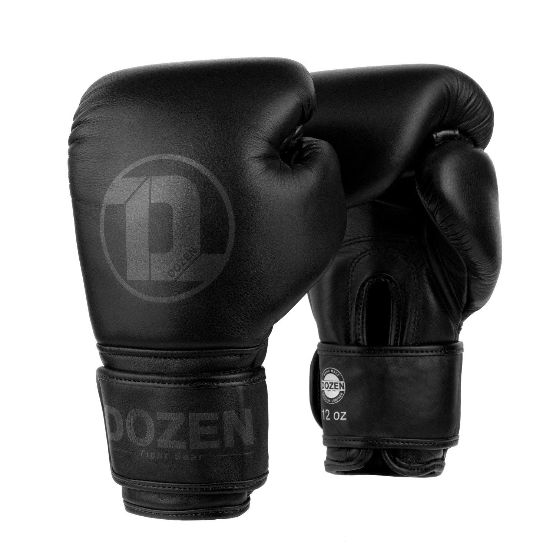 Перчатки Dozen Monochrome черные главный вид
