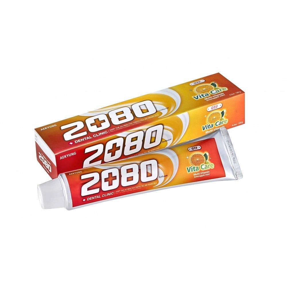 Зубная паста 2080 витаминный уход с фтором