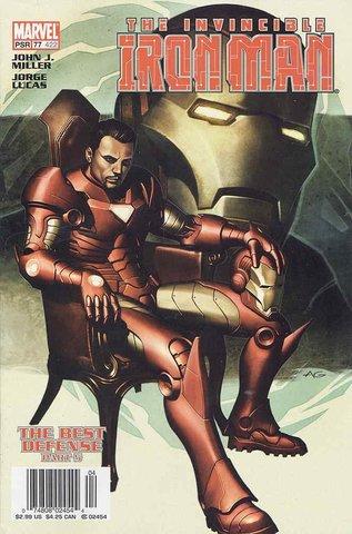 Invincible Iron Man #77