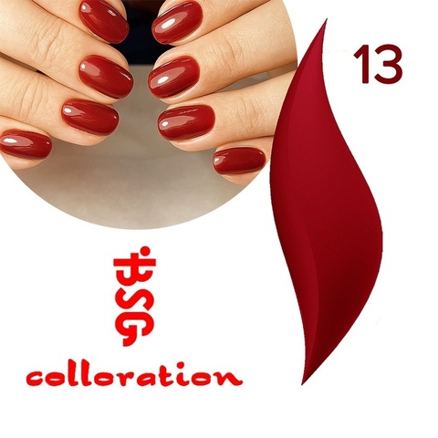 BSG Colloration, №13 Приглушенный красный с мельчайшим шимером купить за 650руб