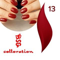 BSG Colloration, №13 Приглушенный красный с мельчайшим шимером