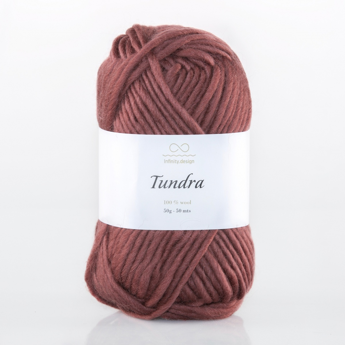 Пряжа Infinity Tundra 4254 бургундия
