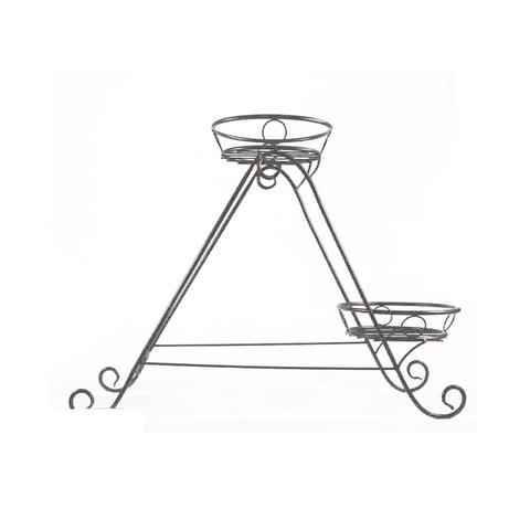 Подставка Напольная на 2 горшка Треугольник