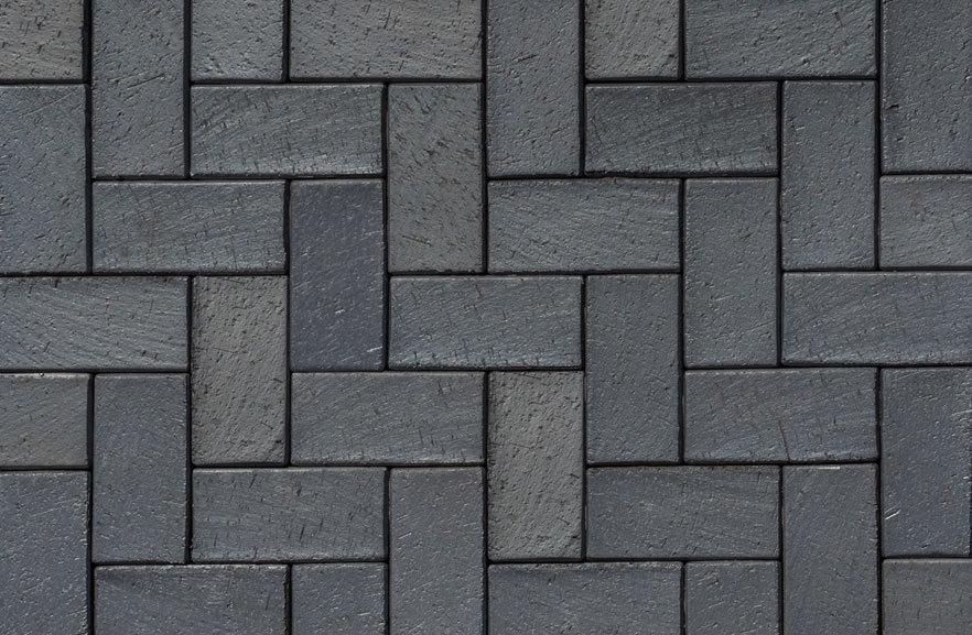 ABC Berlin blau-anthrazit, 200x100x40 - Тротуарная клинкерная брусчатка