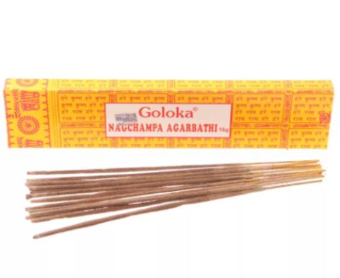 Индийские палочки Goloka NagChampa Agarbathi
