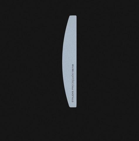 Staleks Пилка полумесяц минеральная для ногтей EXCLUSIVE 100/150 грит