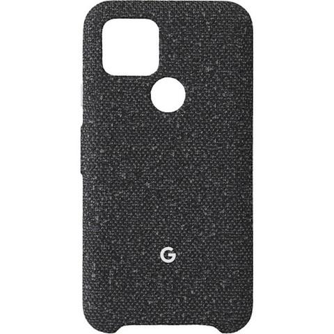 Чехол Google Pixel 5 Fabric Case, Basically Black (в основном черный)