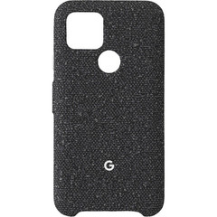 Чехол Google Pixel 5 Fabric Case, Basically Black (в основном черный)