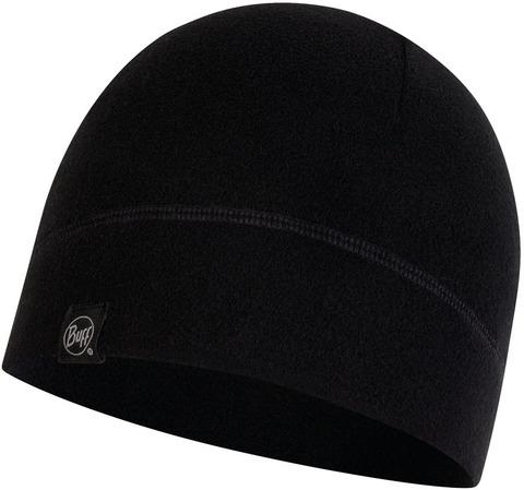 Флисовая шапка Buff Hat Polar Solid Black фото 1