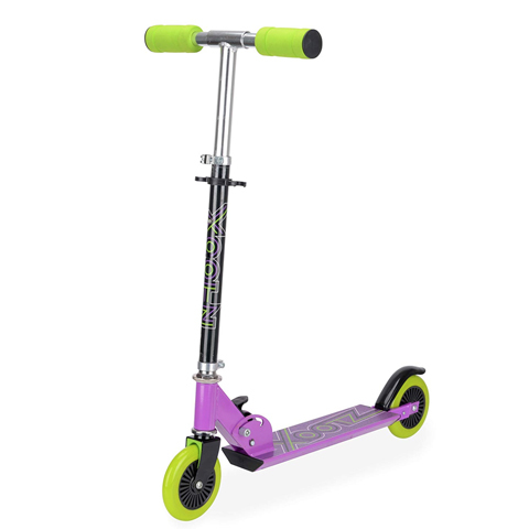 XOOTZ FOLDING SCOOTER - PURPLE