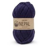 Пряжа Drops Nepal 1709 темно-синий