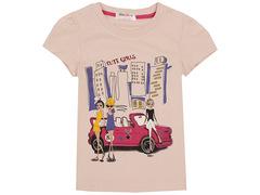S702-1 футболка детская, бежевая