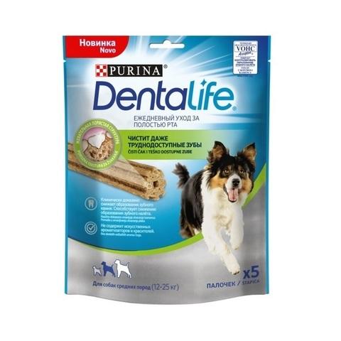 PURINA PRO PLAN Лакомство для собак средних пород для чистки зубов Dentalife Medium