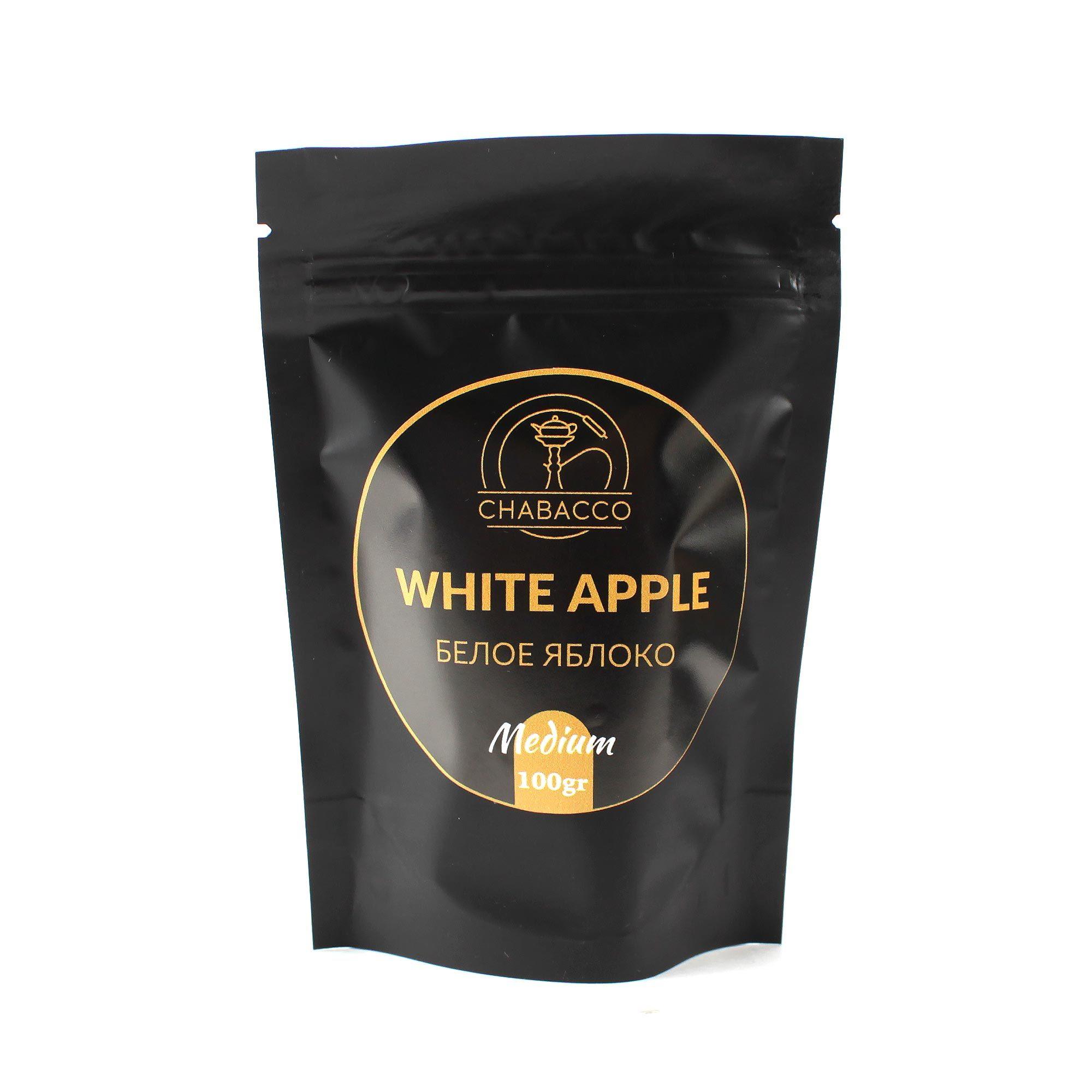 Кальянная смесь Chabacco Medium 100 гр White Apple