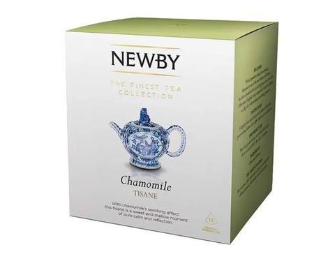 Чай травяной в пирамидках Newby Chamomile, 15 пак/уп